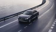 Jeder neue Volvo mit einer serienmäßigen Höchstgeschwindigkeit von 180 km/h ausgeliefert.