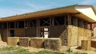 Ein Haus aus Getreidestengeln