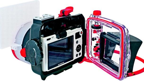 Ein Taucheranzug für die Kompaktkamera