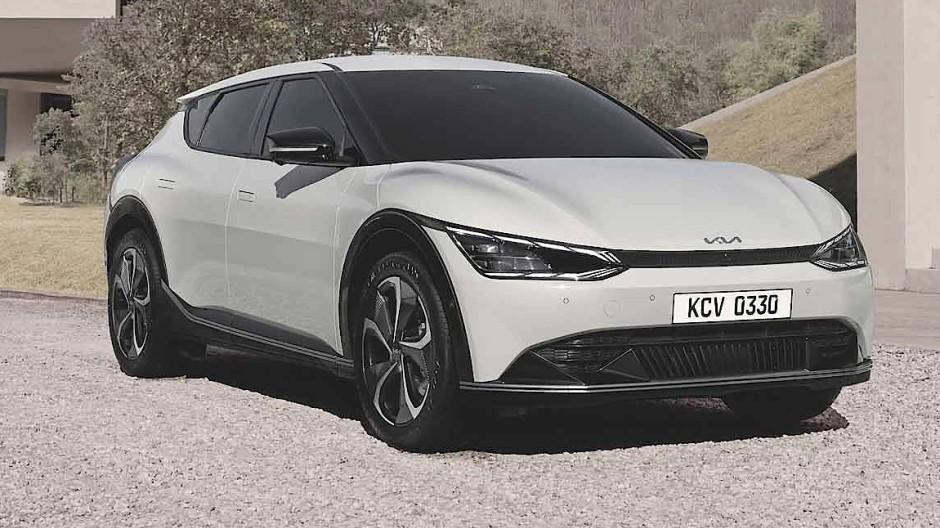 Der neue EV6 von Kia.