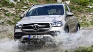 Alltäglicher Einsatzort für den Mercedes GLE.