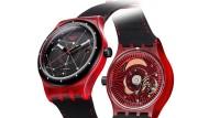 Günstige Mechanik swiss made: Die neue Swatch Sistem51 Red.