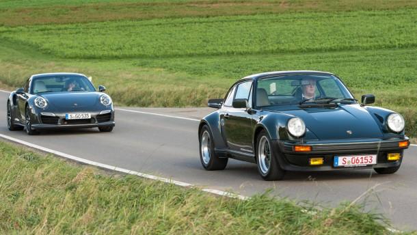 Spielzeug Rund Um Den Neuen Superhelden: Porsche 911 Turbo: 40 Jahre Linke Spur