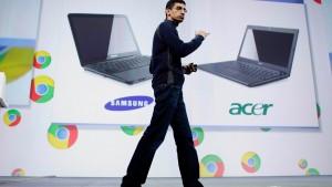 Google stellt Chromebooks vor