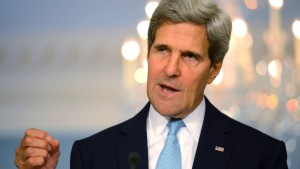 US Secretary of State John Kerry delivers remarks on Syria