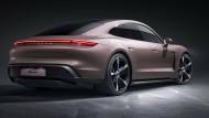 Kraft am Heck: Der Porsche Taycan