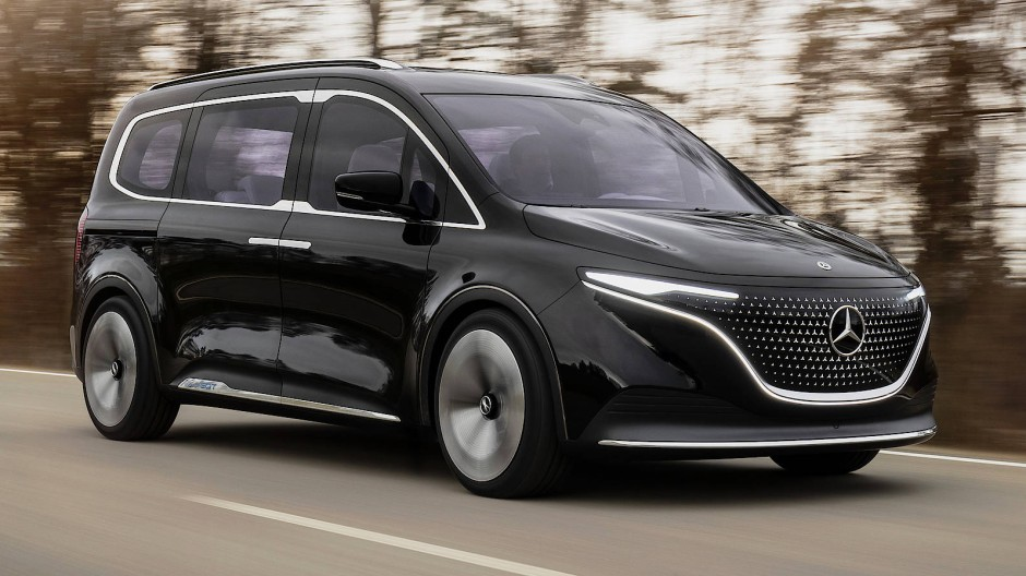 Gemeinschaftswerk: Mercedes EQT mit Genen von Renault.
