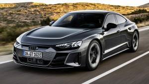 Der Taycan von Audi