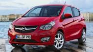 Der Opel Karl soll in der Basisversion weniger als 10.000 Euro kosten.
