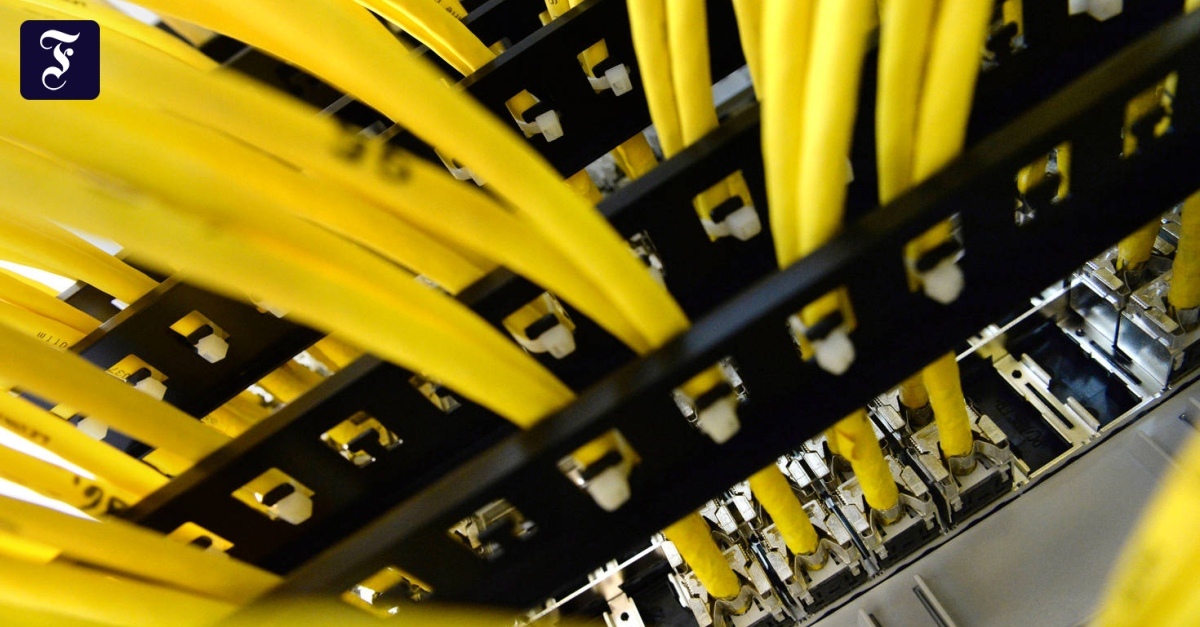 Europaisches Netz Daten Im Land Halten Bringt Nicht Viel Digital Faz
