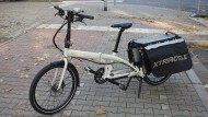Sicherer Stand: Das Tern Cargo Node ist ein verlängertes Faltrad.