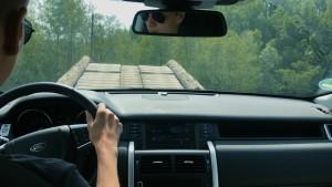 Mit elf Jahren einen Land Rover steuern
