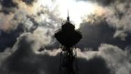 Der Funkturm am Messegelände