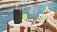 Mal einfach mit nach Draußen nehmen: Sonos Move
