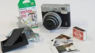 Kleine Sofortbilder, Retrokamera und Abfall: Instax Mini 90 Neo Classic