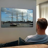 Abstand halten: Zu viel Nähe ist nicht gut für den Fernsehgenuss.