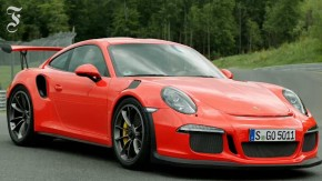 Probefahrt mit dem Porsche 911 GT3 RS