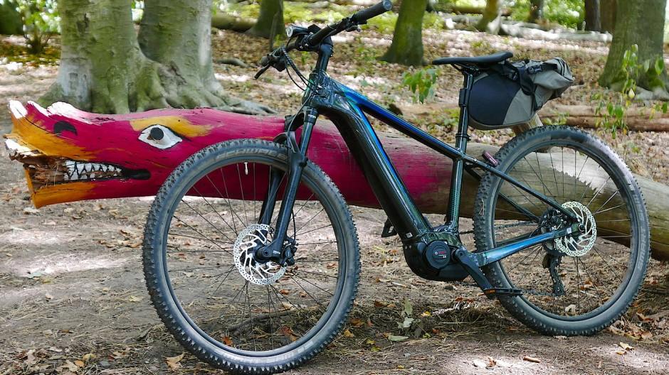 Kraft durch Bosch CX: 85 Newtonmeter Drehmoment in einem Fahrrad - hier ein Hardtail von Cannondale - fühlen sich gar nicht so mächtig an.