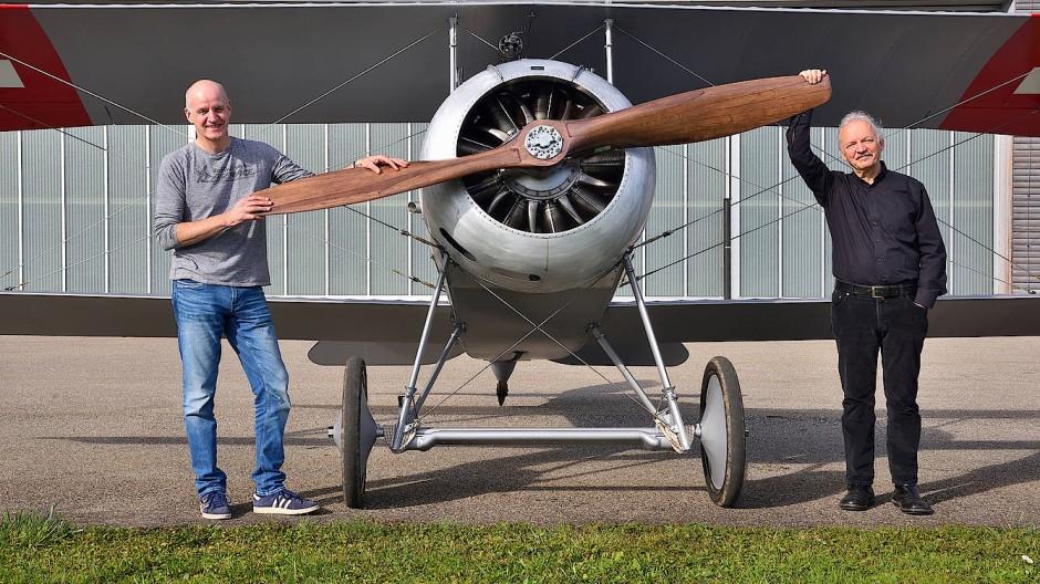 Hier dreht sich nicht nur der Propeller.