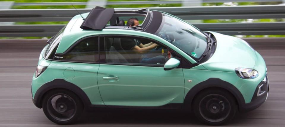 Opel Adam Rock Swing Top Stoff Faltdach Bringt Freude