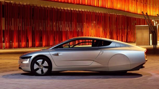 Volkswagen präsentiert Hightech-Ein-Liter-Auto