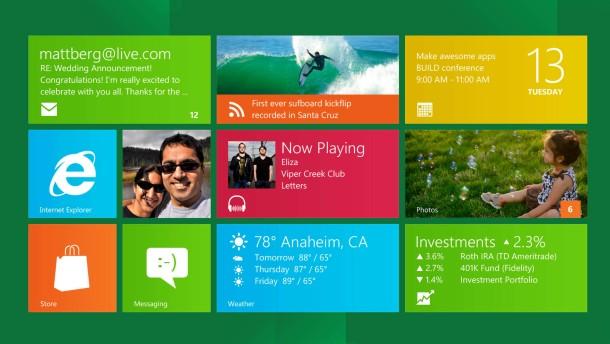 Themendienst Multimedia: Windows 8 ist sicherer und teils schneller als die Vorgaenger
