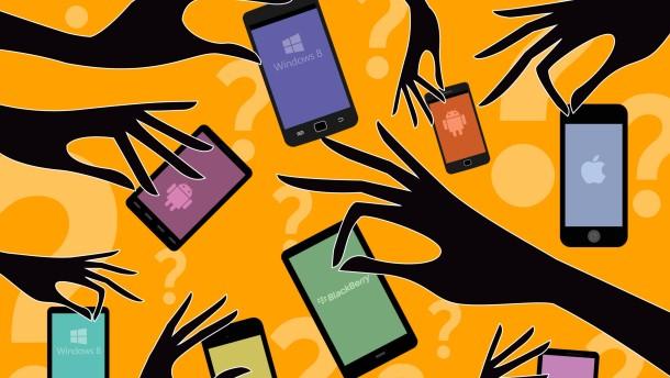 Lust und Last der Smartphone-Wahl