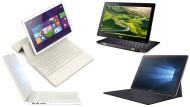 Das Notebook wandelt sich. Wir haben fünf solche Hybrid-Geräte getestet.