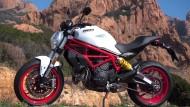 """Die neue Ducati Monster 797 """"Monsterino""""."""