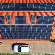 Saubermann: Die Solaranlage füllt den Akku.