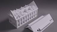 Erst anschauen, dann bauen: 3D-Druck erstellt professionelle Modelle.