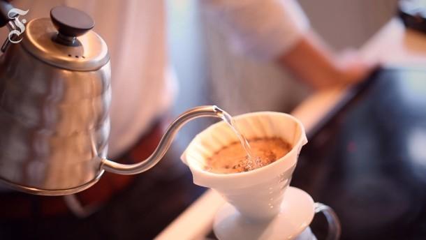 Ein Kaffee mal ganz ohne Druck