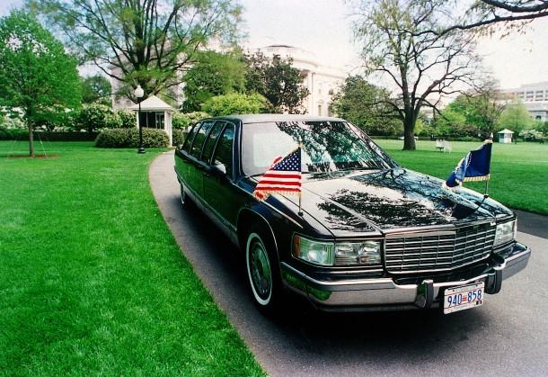 Ein neuer Cadillac für Donald Trump im Weißen Haus
