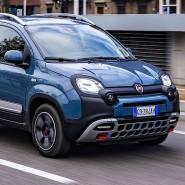 Hipp hipp, Hybrid: Den Fiat Panda, hier in der Modellvariante Cross, fährt jetzt auch mit elektrischer Unterstützung.