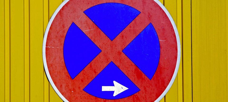Verkehrsrecht Parken Verboten