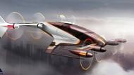 Im Silicon Valley arbeitet Airbus an Vahana. Der Entwurf zeigt das selbstgesteuerte Flugmobil.