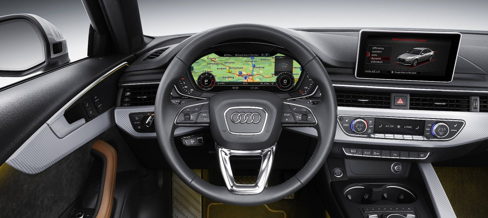 Kommunikationstechnik Des Audi A4 Im Test