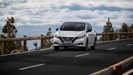 Typisch für ein E-Auto, wie den Nissan Leaf: Nahezu lautloses Gleiten bei 150 PS.