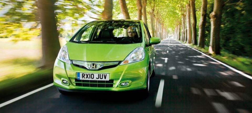 Fahrtbericht Honda Jazz Hybrid Bisschen Elektrisch Praktisch Und