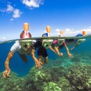 Mehr Meer sehen: Schnorchelmasken machen das Fischegucken ganz besonders leicht.