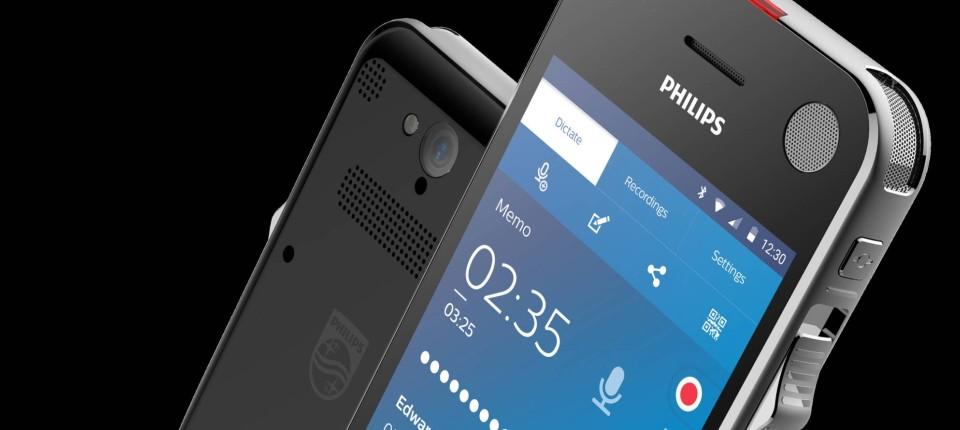 Diktiergerät Philips Speech Air mit Android-Unterbau im Test