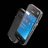 Mit Schiebeschalter: Das neue Speech Air von Philips ist ein Profi-Diktiergerät mit Android-Unterbau.
