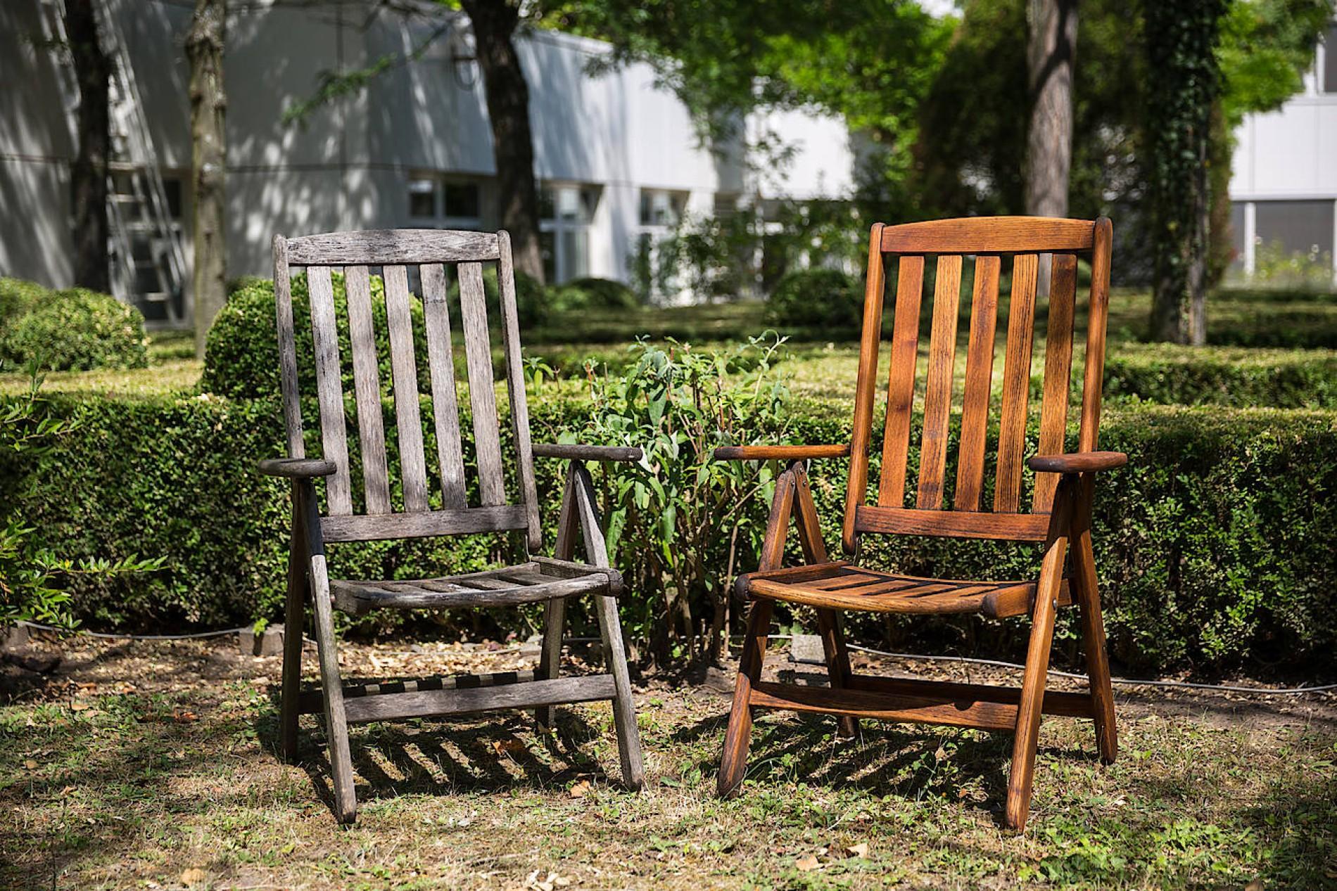 Gartenmobel Die Richtige Pflege Gegen Das Vergrauen