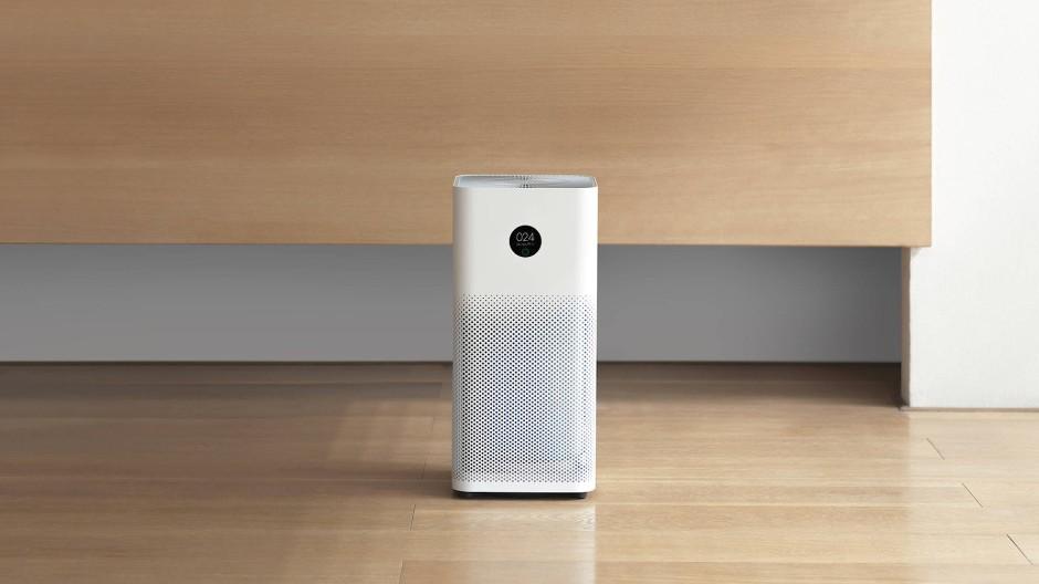 Kleiner Saubermann: Mobile Luftfilter reinigen die Luft von Feinstaub, Pollen, Gasen und sogar Viren.