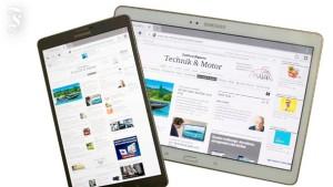 Zwei iPads von Samsung
