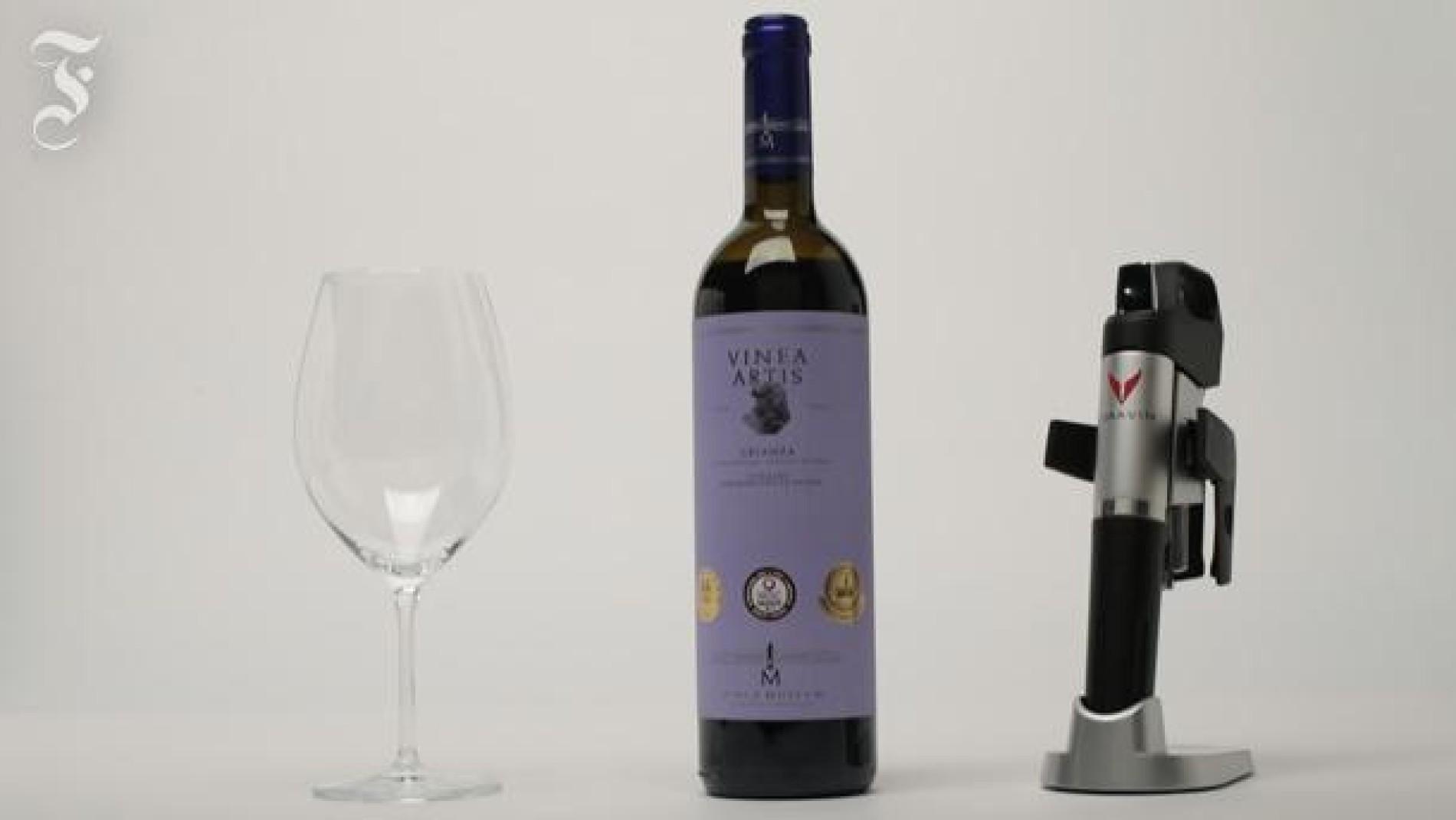 Häufig Flaschenöffner Coravin: Einfach mal den Korken stecken lassen HU93