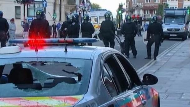 Abermals Unruhen in London