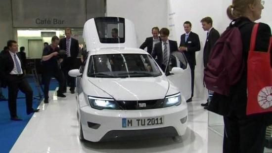 TU München beeindruckt mit E-Auto