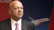 Mehdorn wird neuer Air-Berlin-Chef