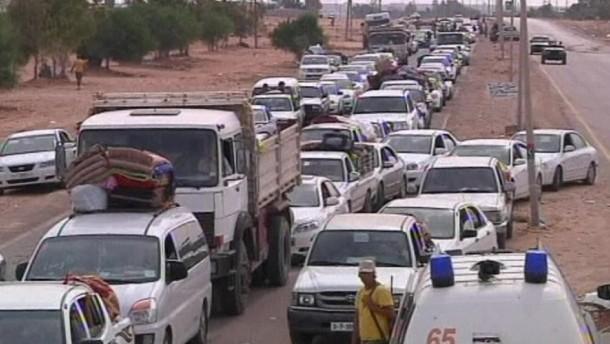 """Lage der Zivilbevölkerung in Sirte """"schrecklich"""""""